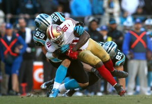 carolina panthers, san francisco 49ers