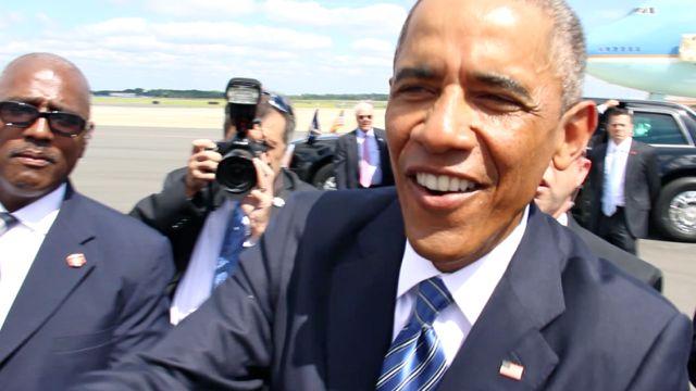 President Obama In Charlotte