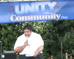 Rev. William Barber Speaks At Unity In The Community In Raleigh