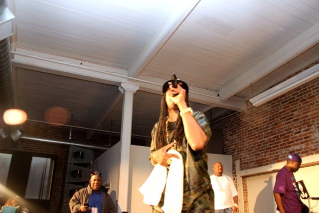DJ Kool at La-Di-Da-Di Party