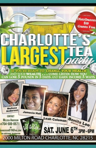 Charlottes Largest Tea Party