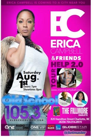 Erica Campbell 2.0 Tour