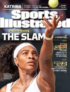 Serena Williams SI Cover