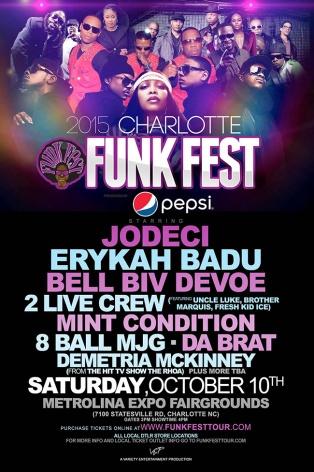 2015 Charlotte Funkfest