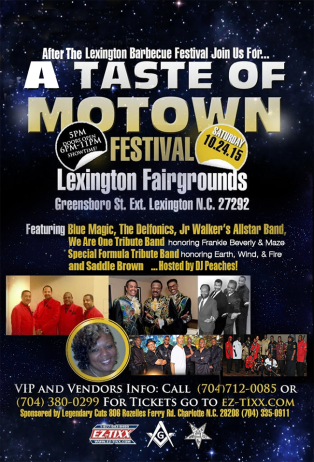 A Taste of Motown Festival