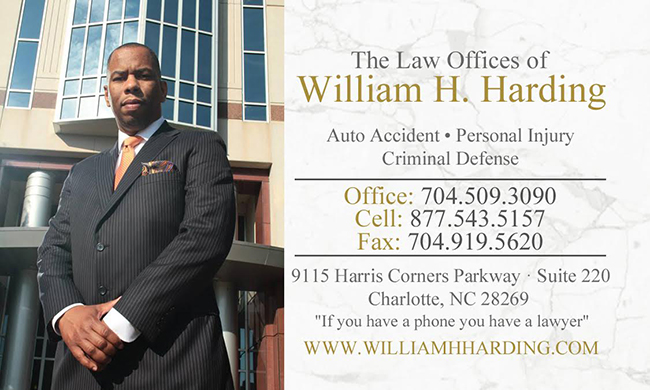 Contact The Law Offices Of William H Harding