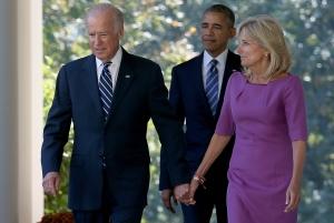 Joe Biden, Jill Biden, President Obama