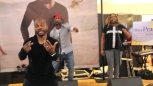 Kirk Franklin Gets Happy At Concord Mills Mall (Video)