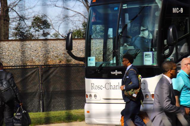 Carolina Panthers Depart For Super Bowl