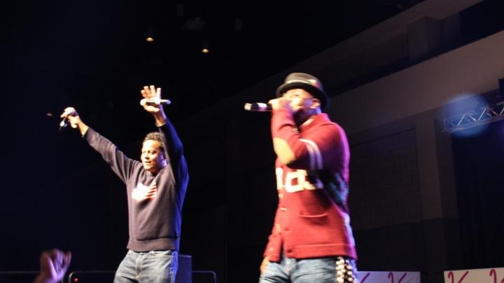 Kwame at Eddie Owens at Legends of Hip-Hop Concert