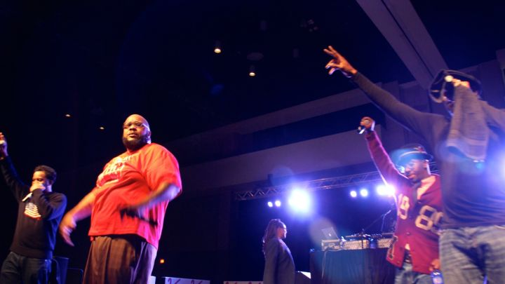 Chubb Rock at Legends of Hip-Hop Concert