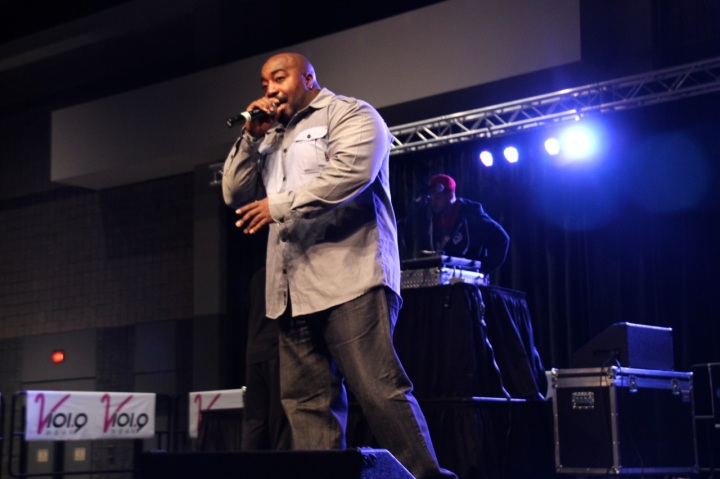 Eddie Owens at Legends of Hip-Hop Concert