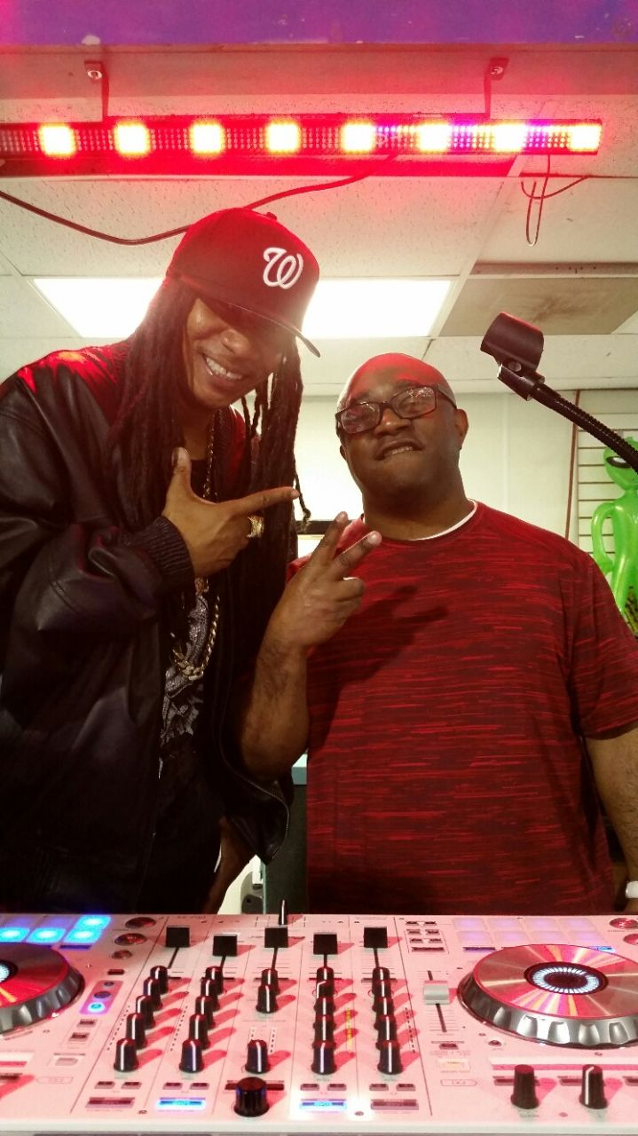 DJ Kool & DJ Stacey Blackman Old School Skate Party CIAA 2016