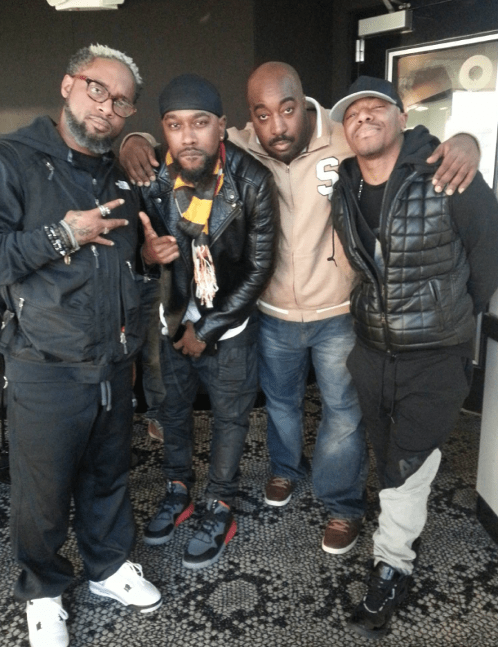 Dru Hill and Eddie Owens