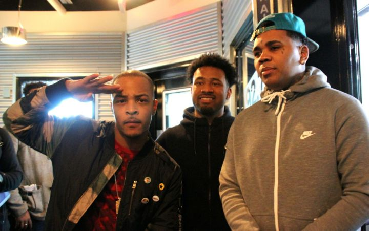 T.I., Chewy and Kevin Gates