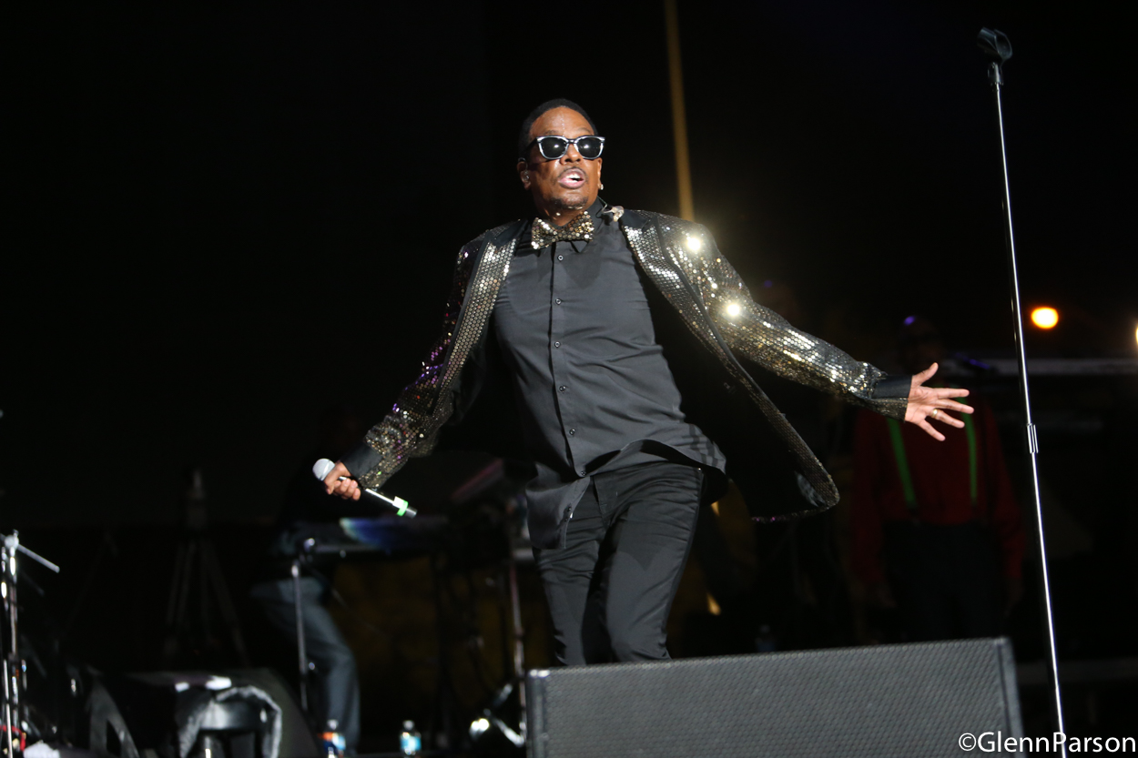 Charlie Wilson at Jazz In The Gardens 2016