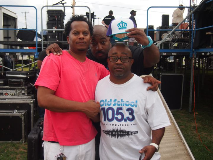 Special Ed and Stacy Blackman at Kinfolks Soul Food Festival 2016