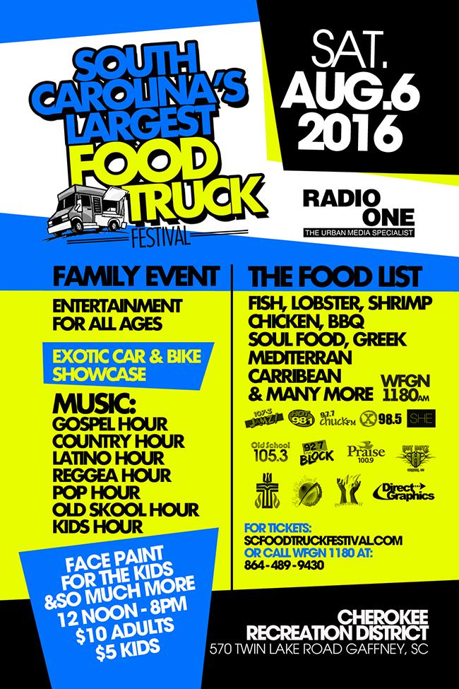 South Carolina's Food Truck Festival