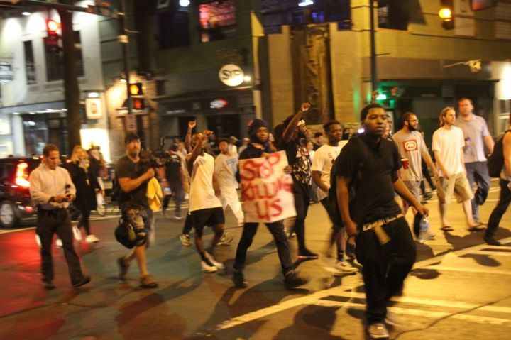 Peaceful Charlotte Protest Uptown