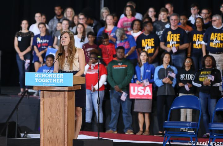 Hillary Clinton Rally In Raleigh