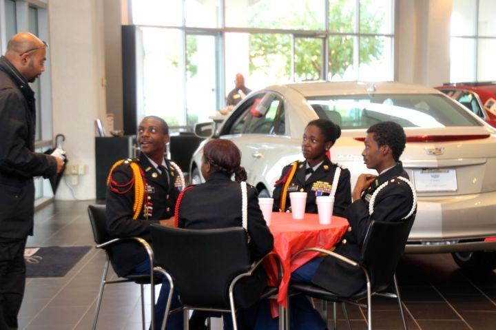 West Charlotte Color Guard