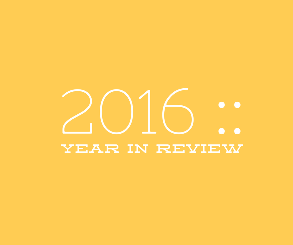 Year In Review Graphic