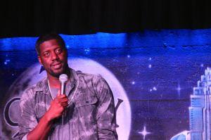 Will Spank Horton at the Comedy Zone