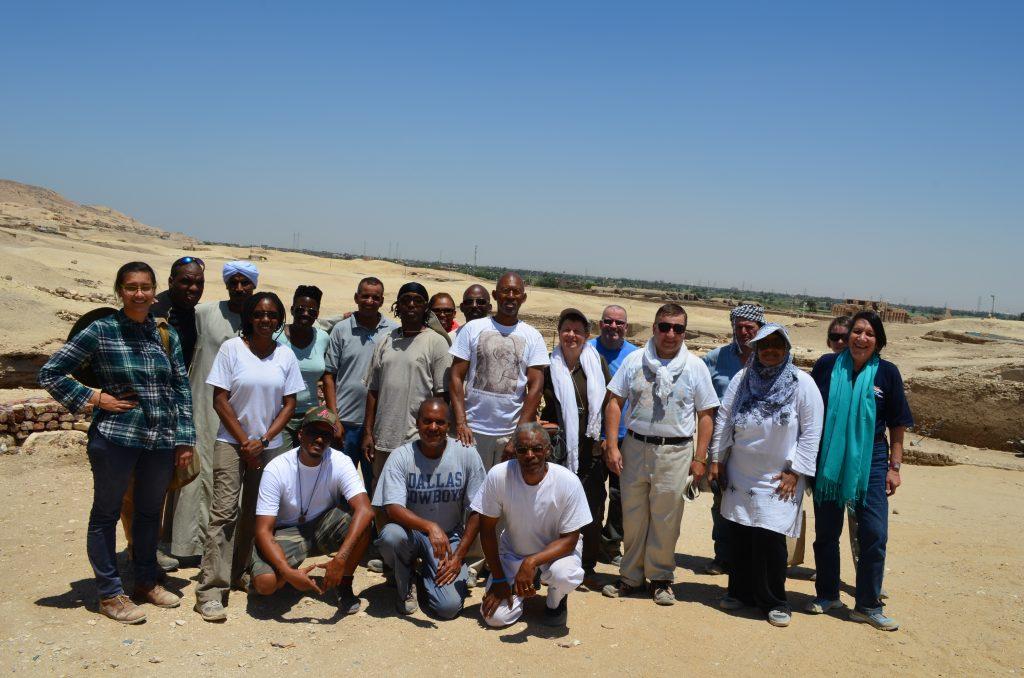Rashad Phillips in Egypt