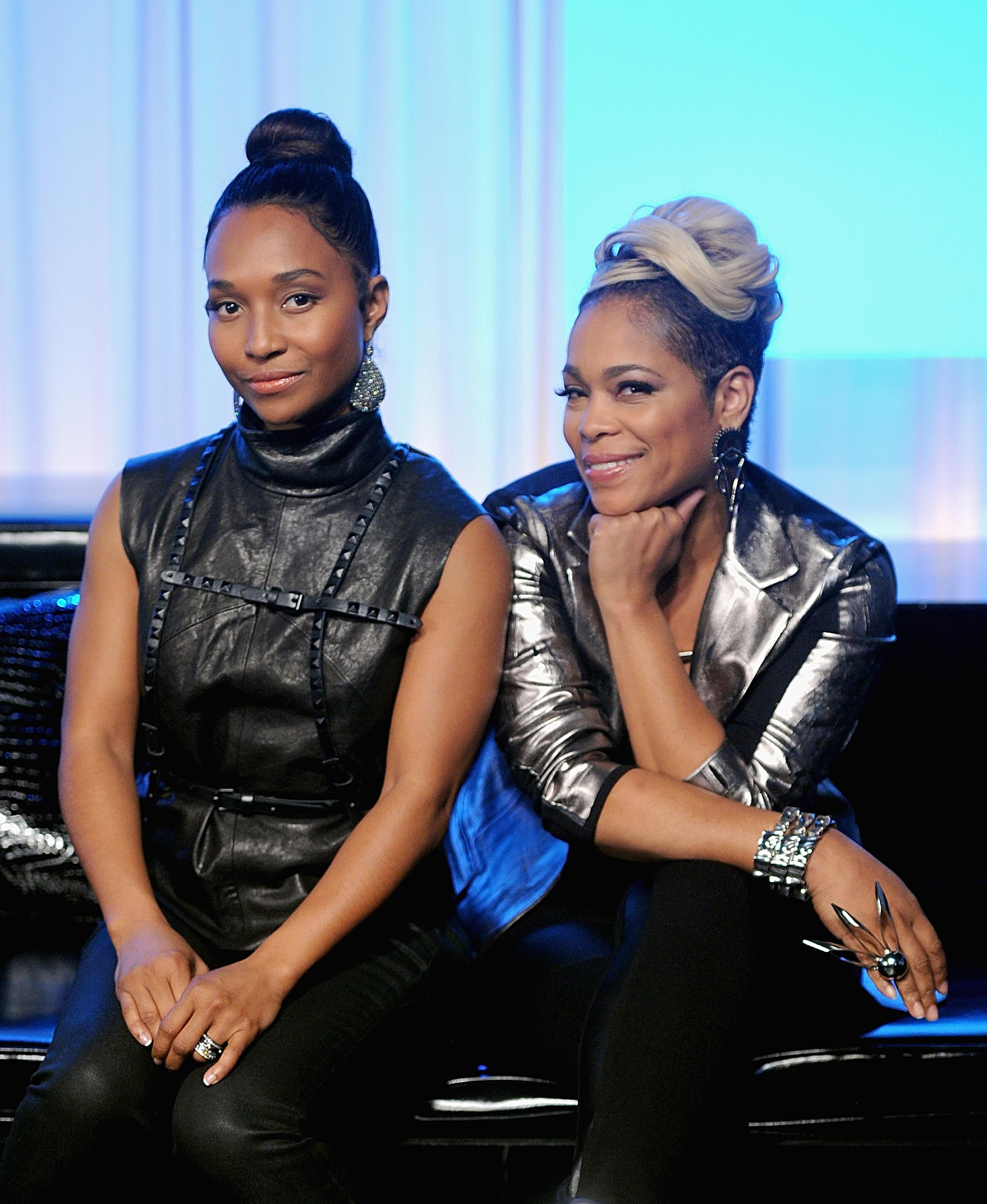 TLC Stops By Music Choice's 'You & A'