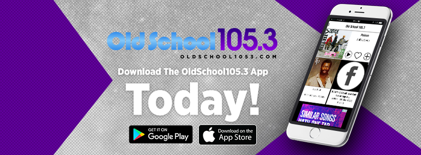 Old School 105.3 App Graphics
