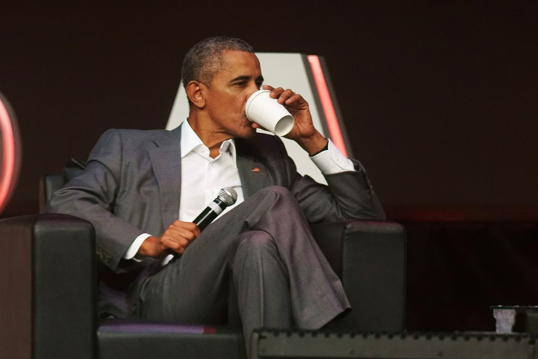 Former Us President Barack Obama Gives Speech In Indonesia