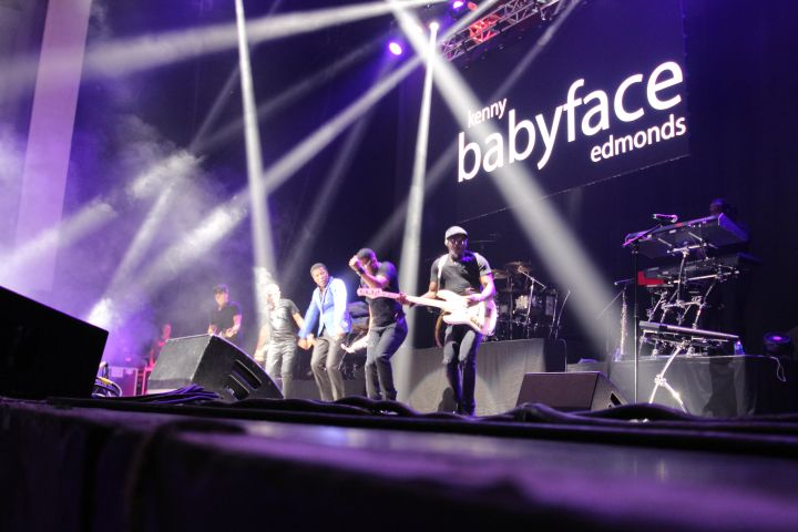 FunkFest Charlotte 2017-BabyFace and Bobby Brown
