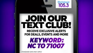 Old School 105.3 Text Club