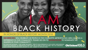 I Am Carolina's Black History