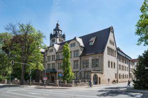 Main building, Friedrich Schiller University, Jena, Thuringia, Germany