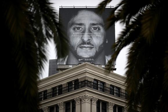 Nike Uses Controversial Football Quarterback Colin Kaepernick In New Ad Campaign