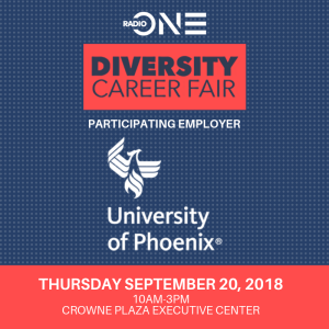 Diversity Career Fair Sept 2018
