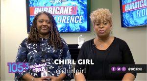 Chirl Girl and Tia Burch