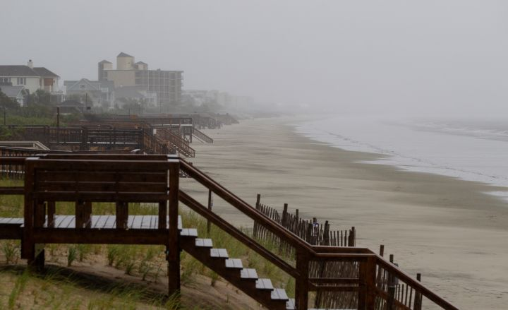 Hurricane Florence Slams Into Coast Of Carolinas