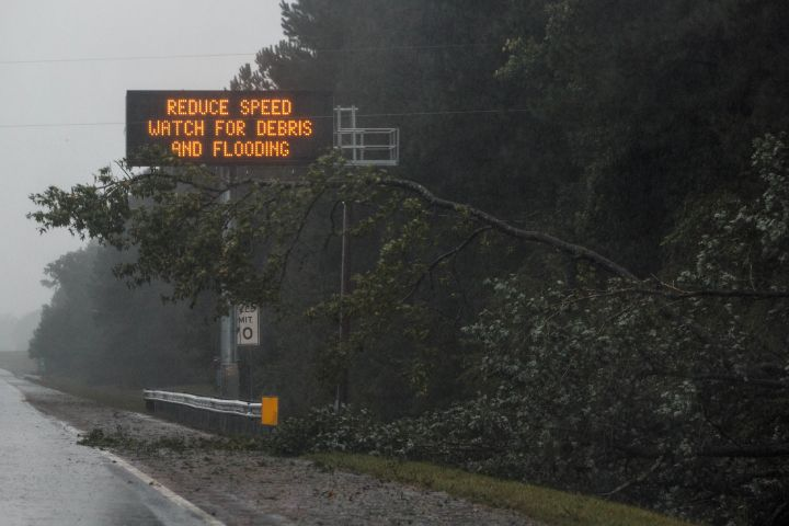 Hurricane Florence Strikes North Carolina