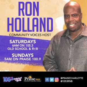 Ron Holland Community Voices