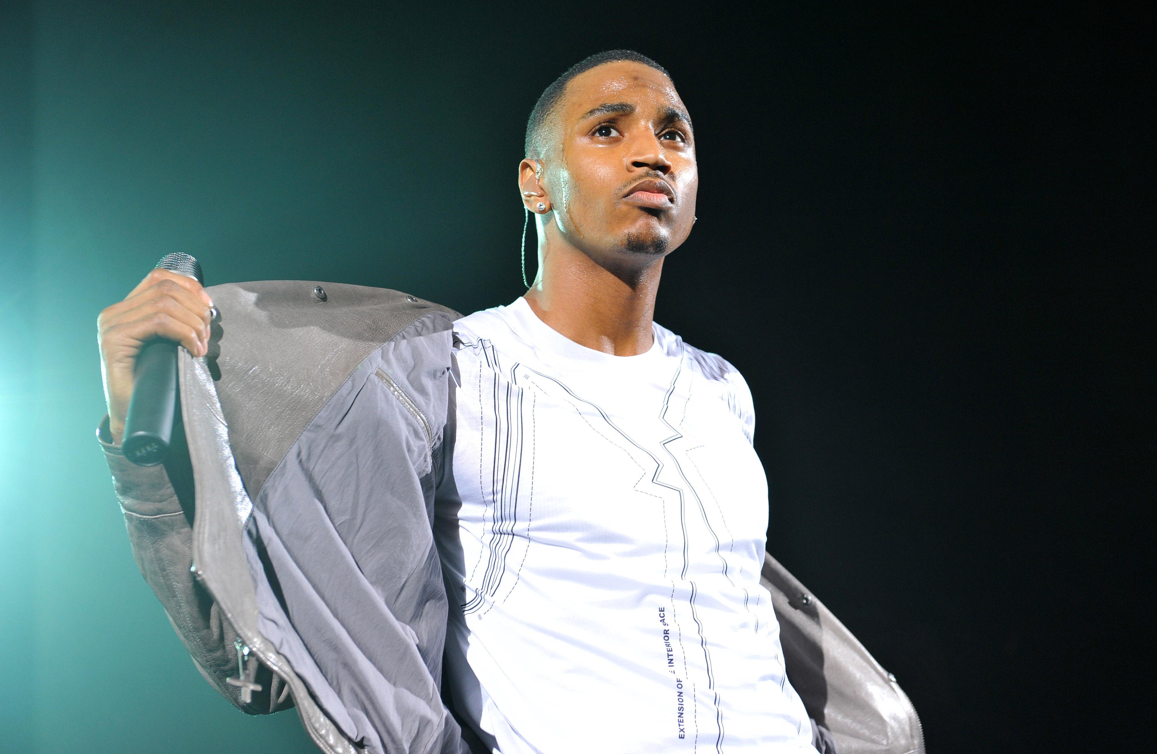 Trey Songz Performs At HMV Hammersmith Apollo In London