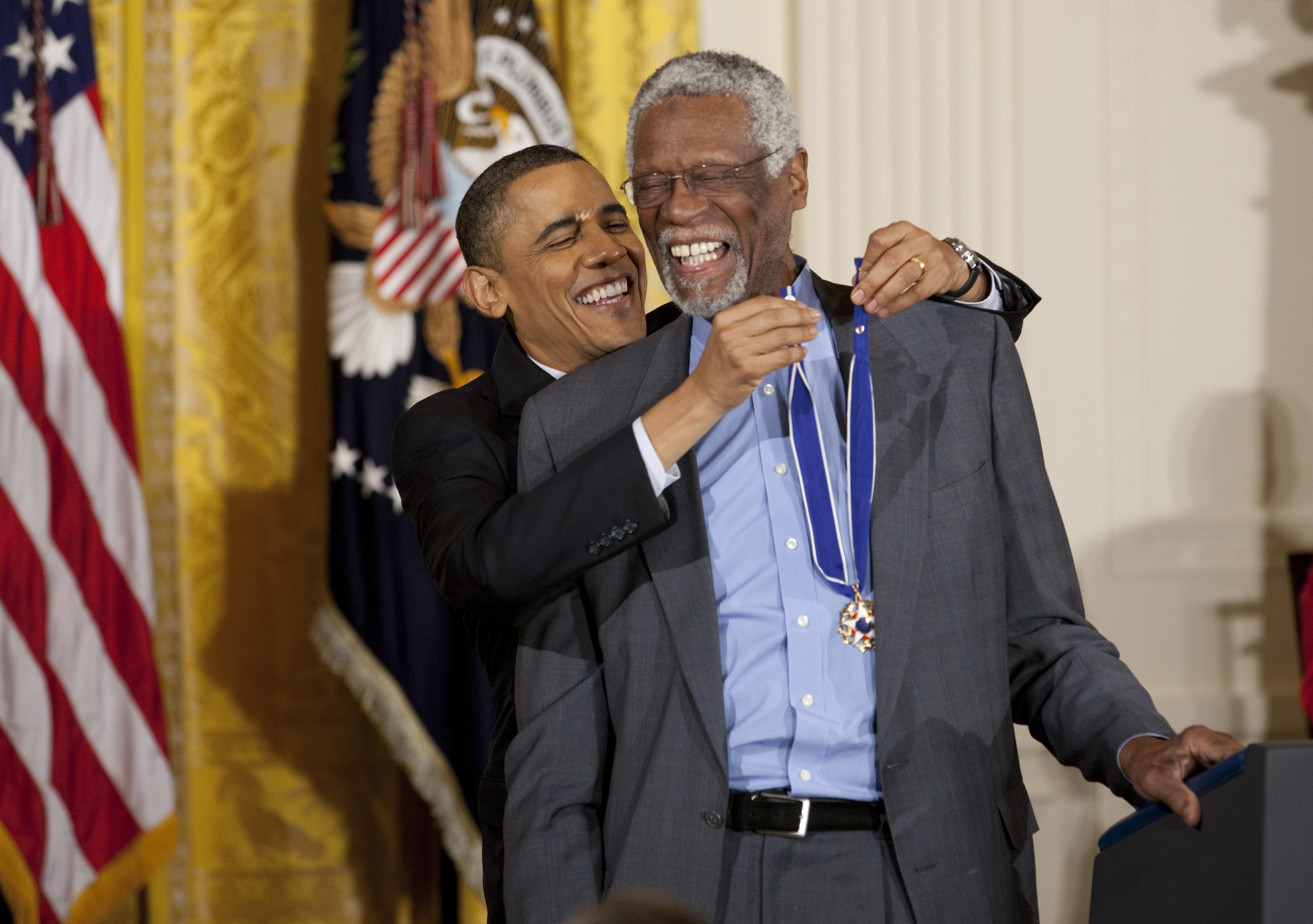 USA - Politics - President Obama Awards Medal of Freedom