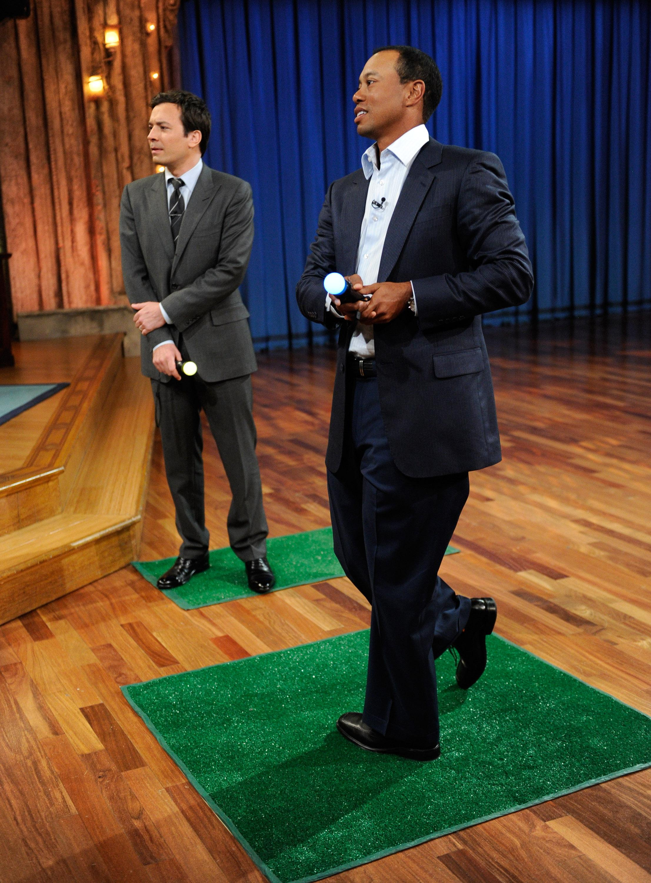 Celebrities Visit 'Late Night With Jimmy Fallon' - March 16, 2011