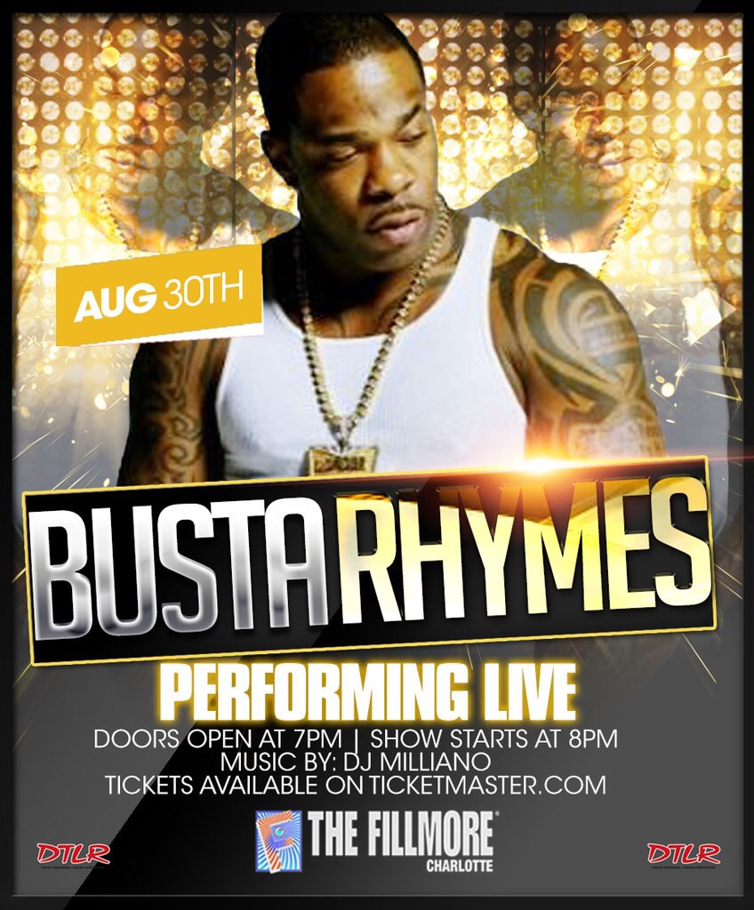 Busta Rhymes Live at The Fillmore