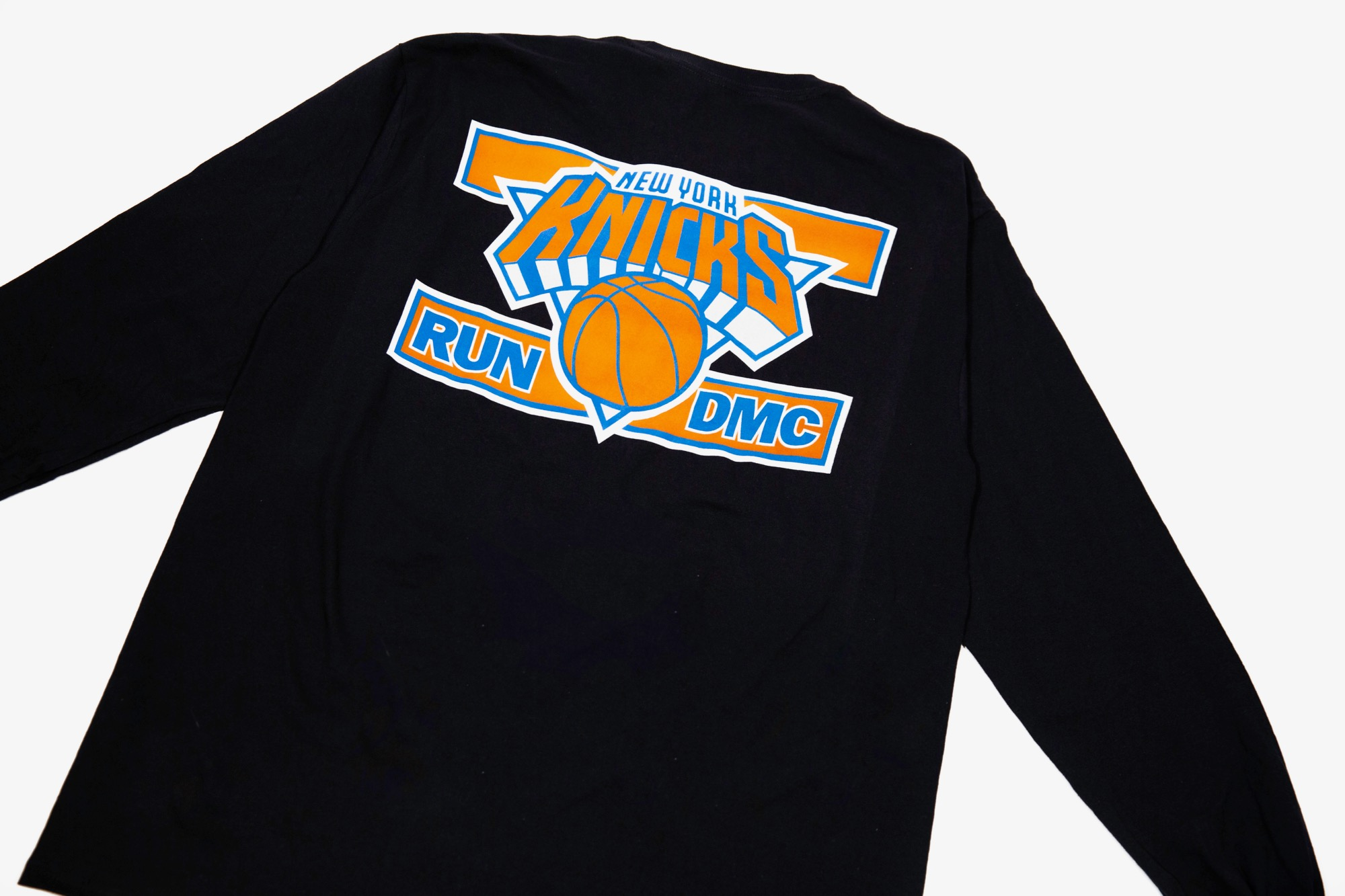 Run-DMC x NY Knicks merch