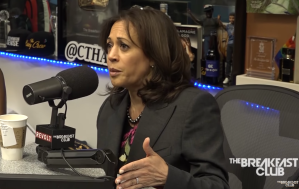 Kamala Harris on The Breakfast Club