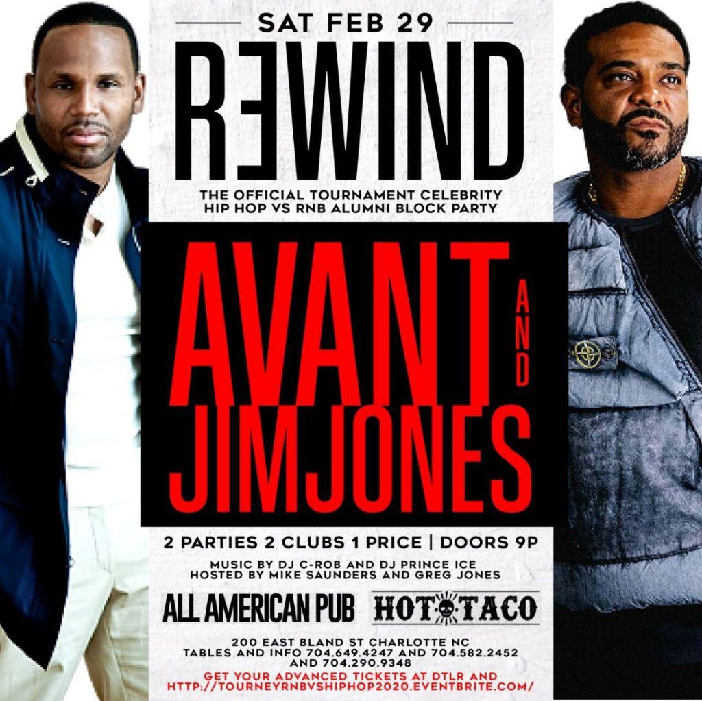 Sky City Rewind with Avant and Jim Jones